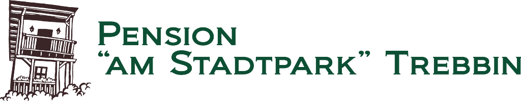 "Logo Pension ""Am Stadtpark"" Trebbin"